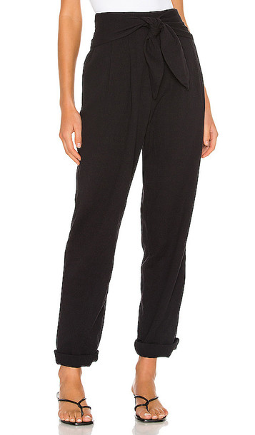 L'Academie The Felicienne Pant in Black