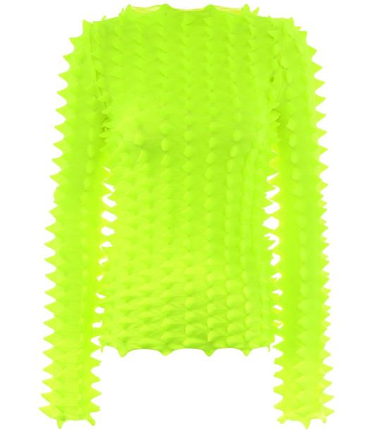 Loewe Paula's Ibiza 3D sweater in yellow