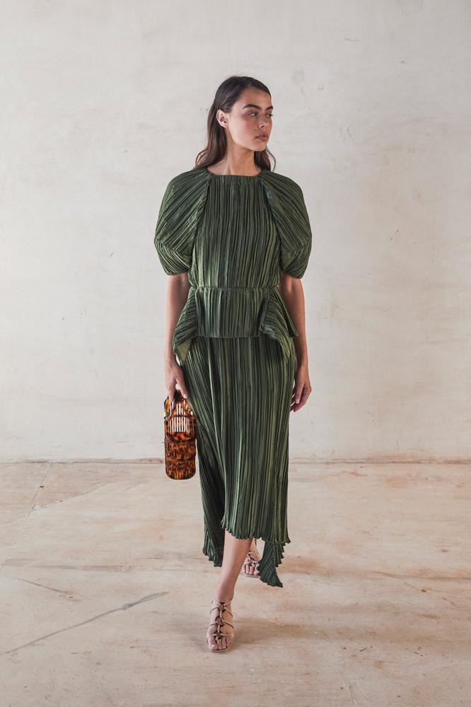 Cult Gaia Nadira Dress - Cypress                                                                                               $828.00