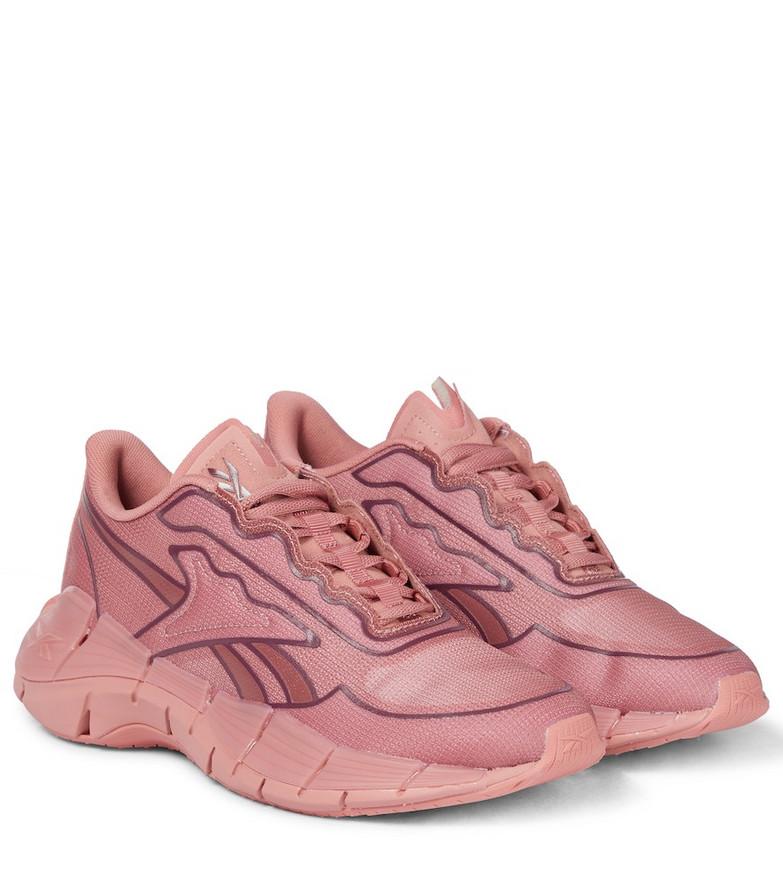 Reebok x Victoria Beckham Zig Kenitica mesh sneakers in pink
