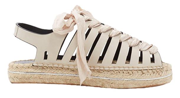 shoes cut out shoes blush pink espadrilles