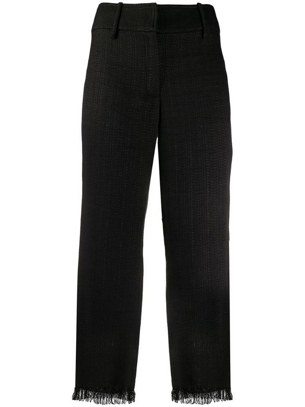 Dolce & Gabbana Pre-Owned 1990s cropped trousers in black