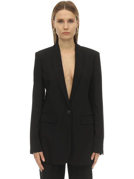 ISABEL MARANT Pratelia Wool Blazer in black