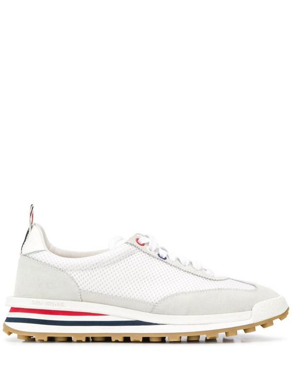 Thom Browne Tech Runner low-top sneakers in white