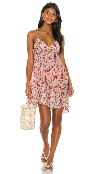 LPA Val Slip Dress in Pink