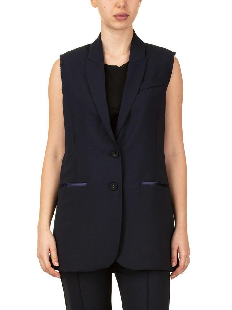 SEMICOUTURE Mondrian Vest in blue