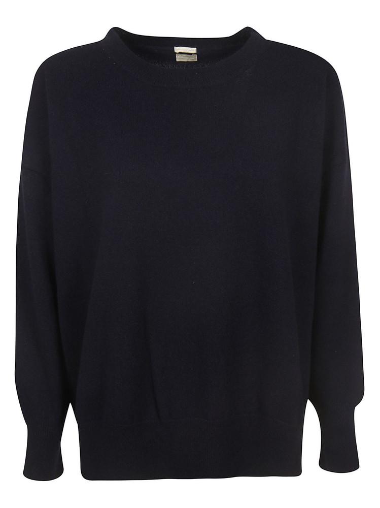 Massimo Alba Round Neck Sweater in blue