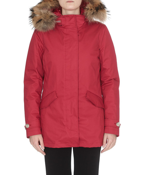 Woolrich Arctic Padded Parka in red