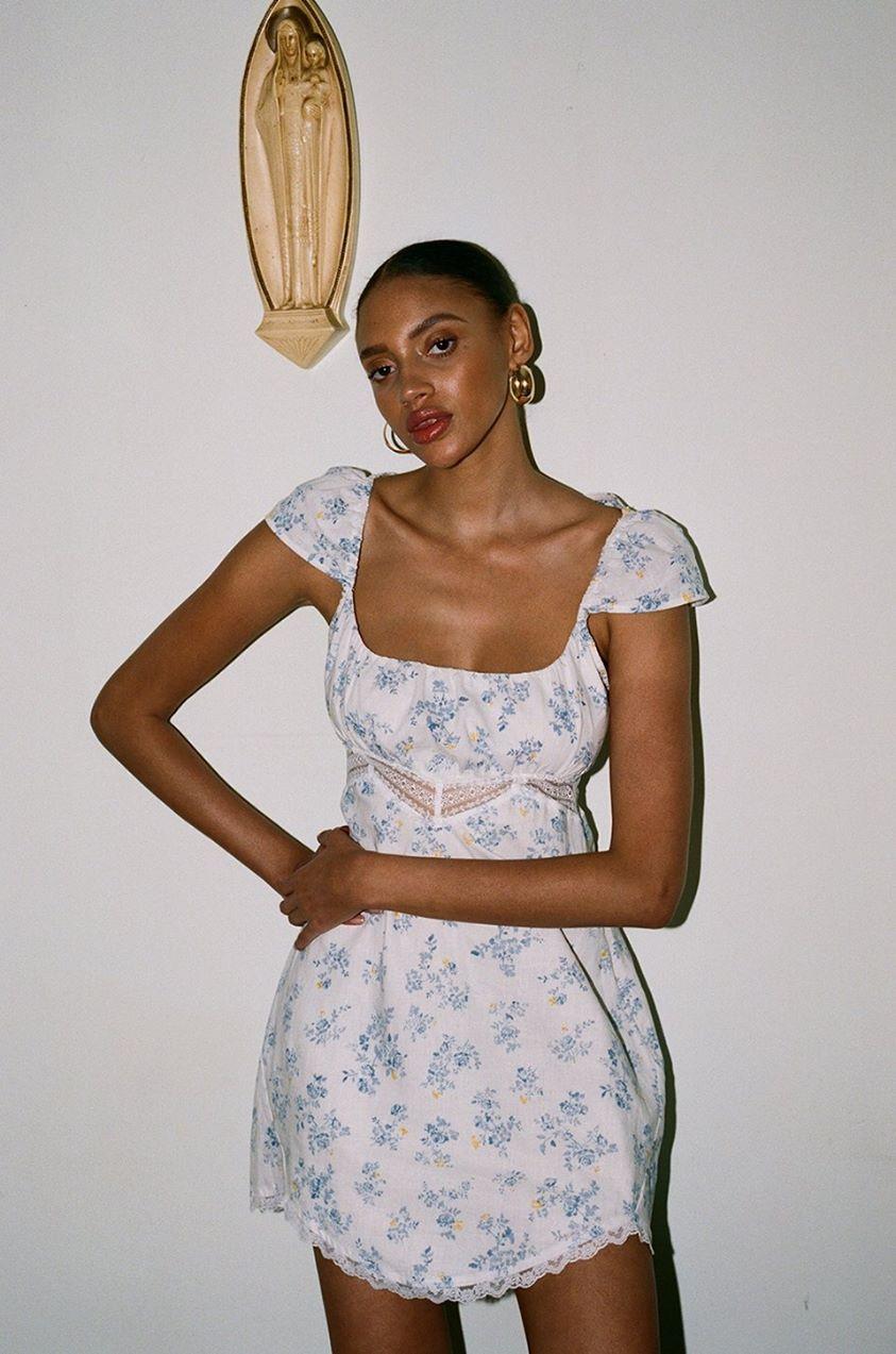 Ernesta Dress in Dee Floral