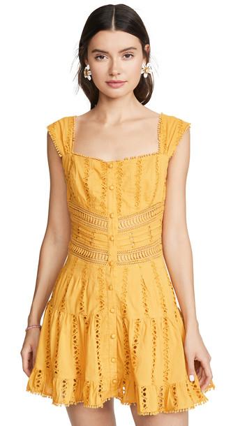 Rahi Paradise Andie Dress in mustard