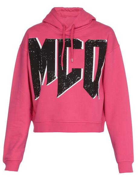 McQ Alexander McQueen Cotton Sweatshirt in pink