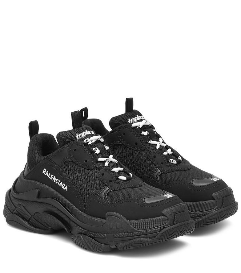 Balenciaga Triple S sneakers in black