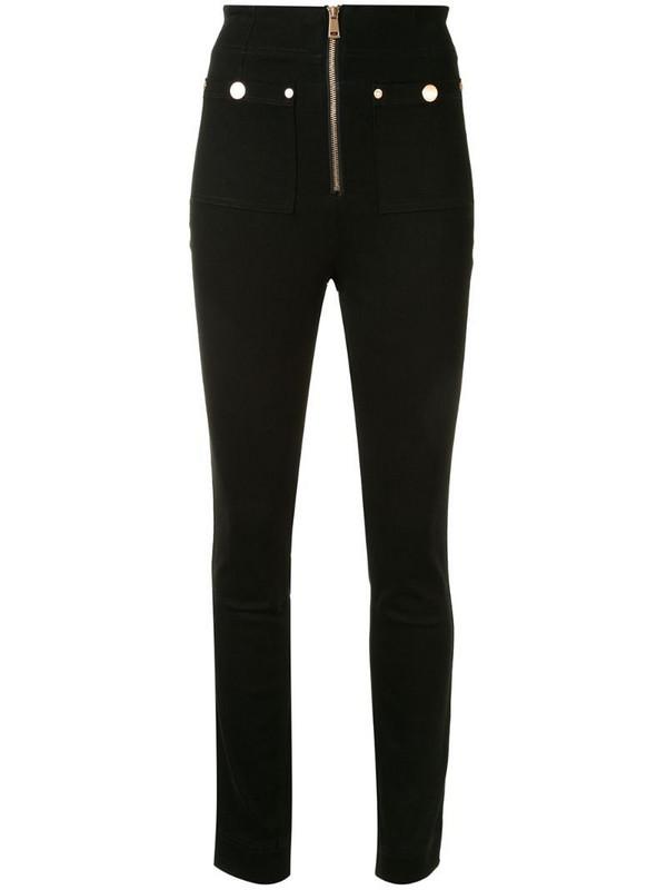 Alice McCall Club Noir skinny jeans in black
