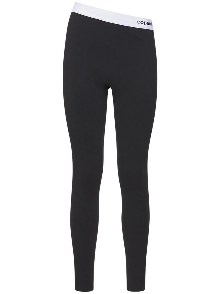 COPERNI C+ Logo Banded Leggings in black