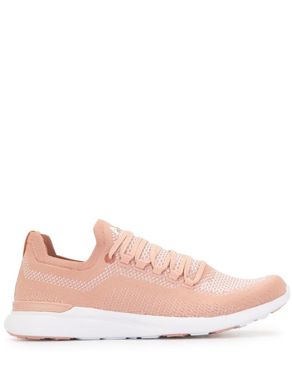 APL: ATHLETIC PROPULSION LABS TechLoom Breeze knitted sneakers in pink