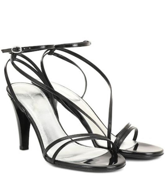 Isabel Marant Arora leather sandals in black