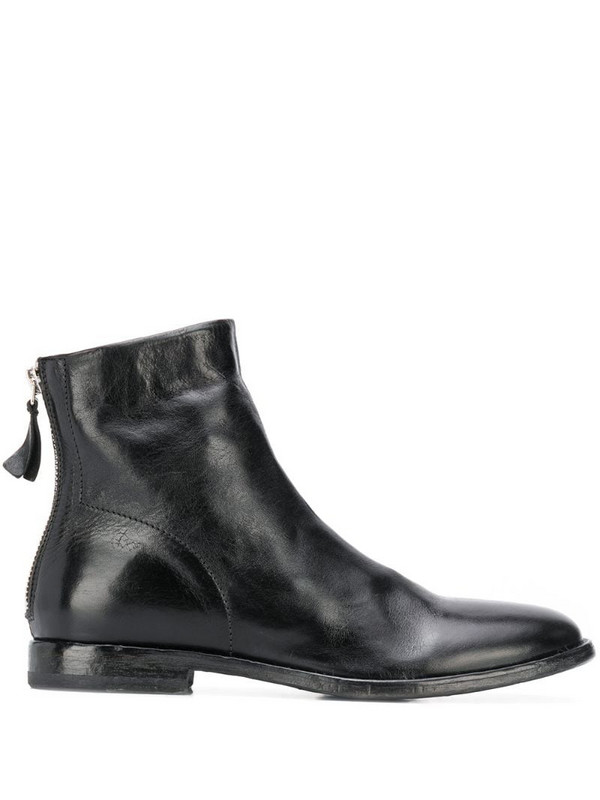 Moma Nottingham ankle boots in black