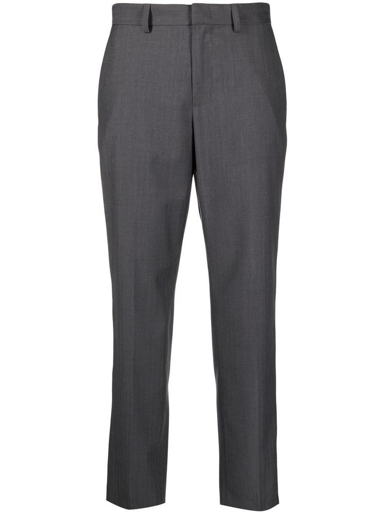 A.P.C. A.P.C. mid-rise tailored trousers - Grey