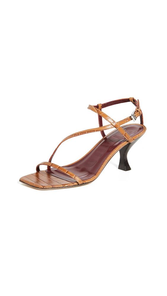 STAUD Gita Sandals in brown