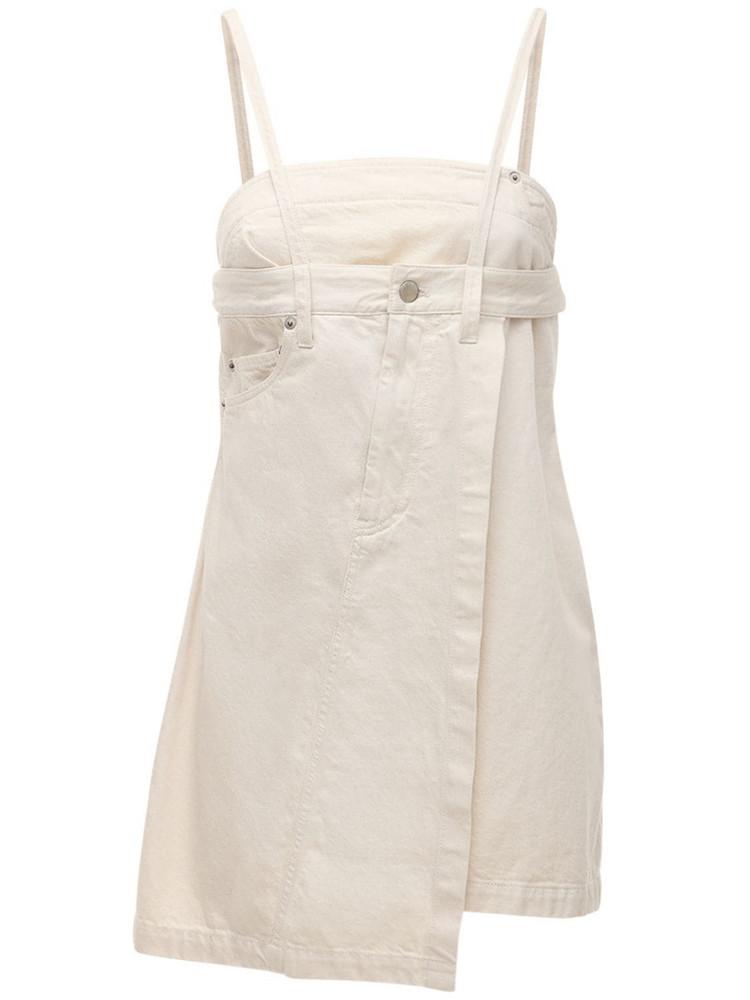 AMBUSH Denim Top in white