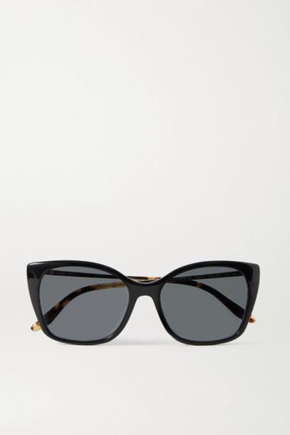 Prada - Square-frame Acetate And Gold-tone Sunglasses - Black