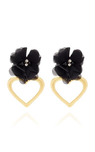 Mallarino Margot Black Earrings