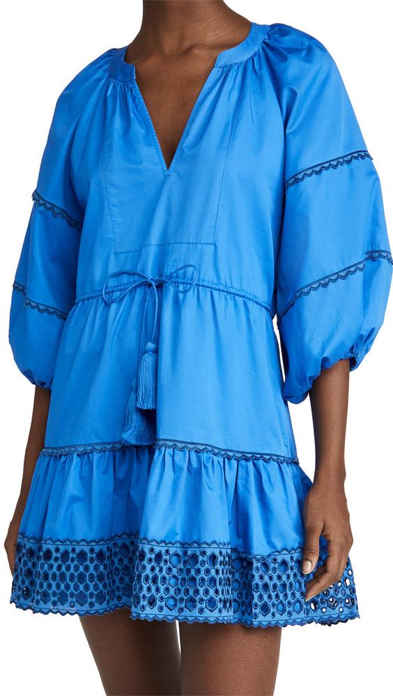 Alexis Daksha Mini Dress in cobalt
