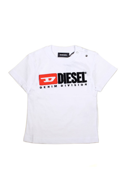 Diesel White T-shirt With Logo