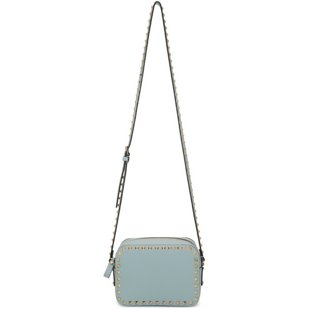Valentino Blue Valentino Garavani Rockstud Crossbody Bag