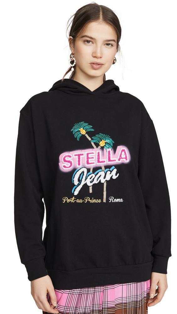 Stella Jean Stella Hoodie in black