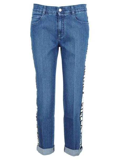 Stella Mccartney Stella Mccartney Boyfriend Jeans in blue