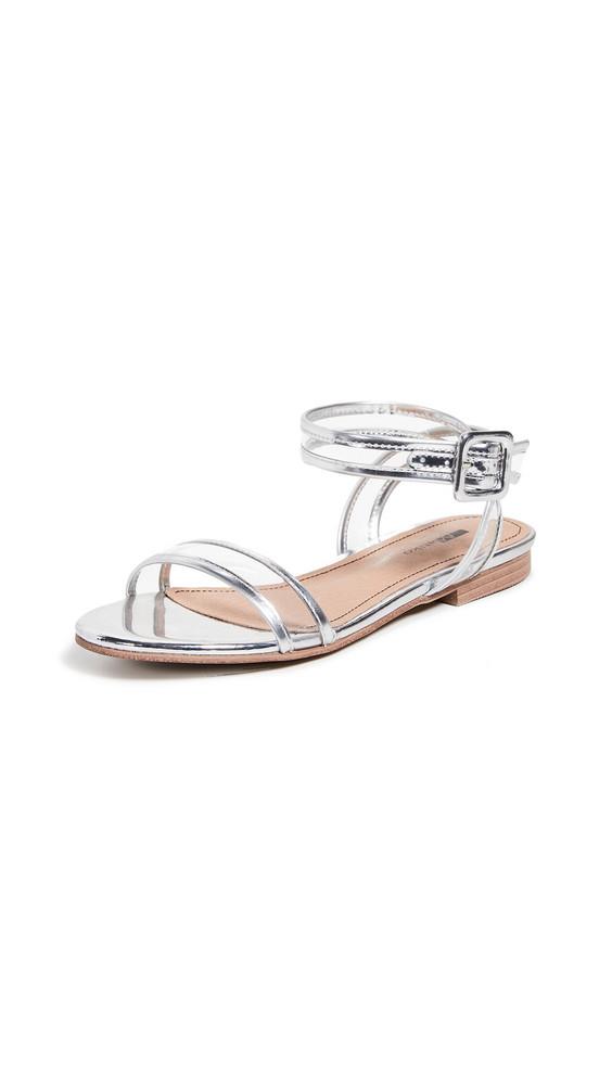 Matiko Lynne Vinyl Sandals in silver
