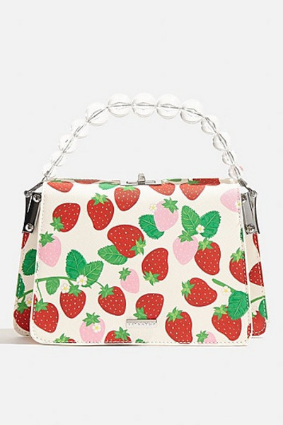 Skinny Dip *Lacey Strawberry Cross Body Bag By Skinnydip - Multi