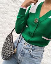 cardigan,green cardigan,sweater