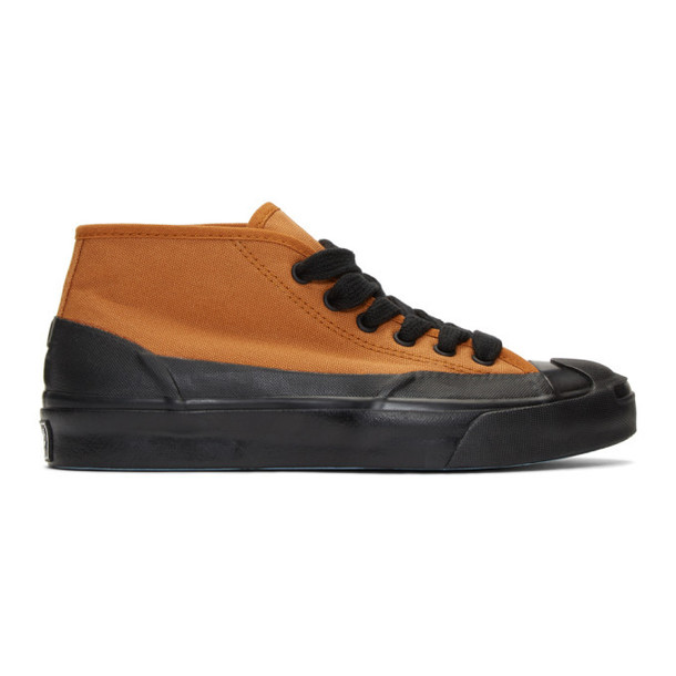Converse Orange A$AP Nast Edition JP Chukka Mid Pump High-Top Sneakers