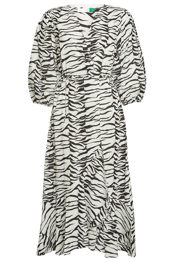 RIXO LONDON Cotton Noleen Cover-Up  in print