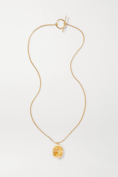 Soft Mountains - Monologue Gold Vermeil Necklace