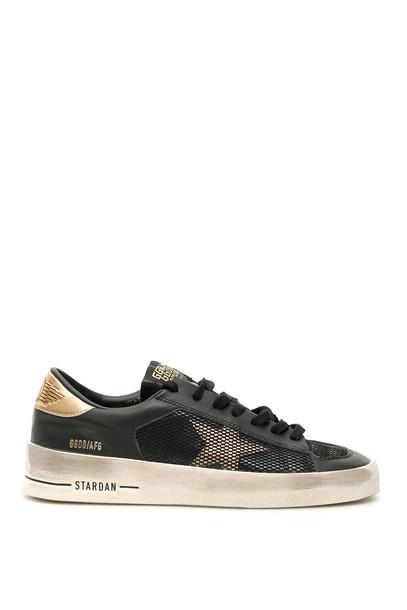 Golden Goose Stardan Sneakers in black / gold
