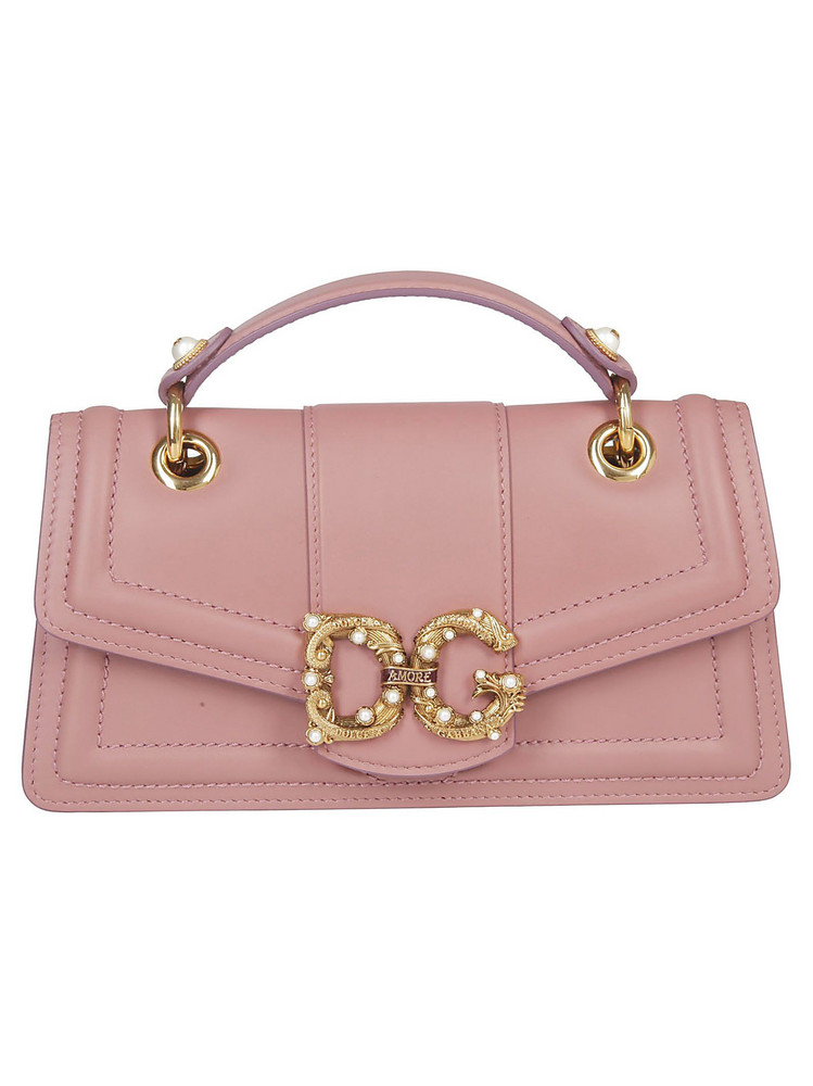 Dolce & Gabbana Classic Shoulder Bag in pink