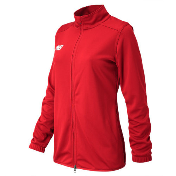 New Balance 599 Women's NB Knit Training Jacket - Red (TMWJ599RD)