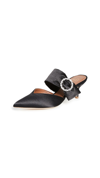 Malone Souliers Maite Crystal Ms 45mm Mules in black