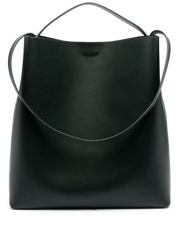 Aesther Ekme Sac leather tote bag in green