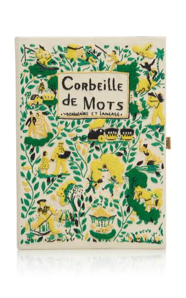 Olympia Le-Tan Corbeille De Mots Clutch