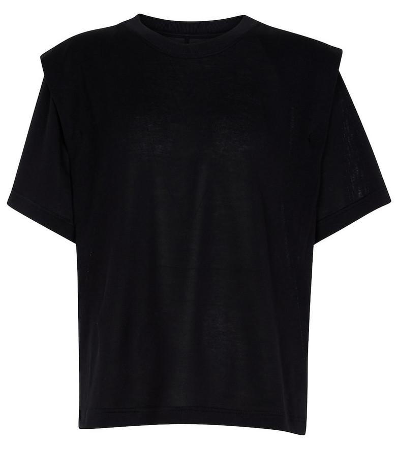 Isabel Marant Zelitos cotton T-shirt in black