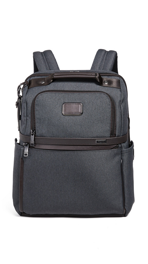 Tumi Alpha Slim Solutions Brief Backpack in anthracite