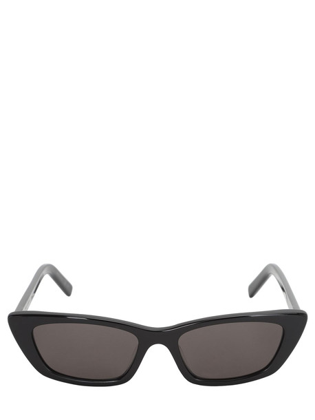 SAINT LAURENT Nw Sl277 Acetate Sunglasses in black