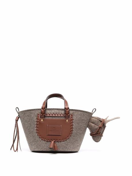 Anya Hindmarch small Donkey tote bag - Grey