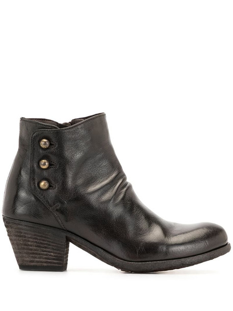 Officine Creative Giselle mid-heel boots in brown