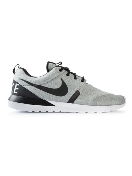 Nike lace-up sneakers in grey