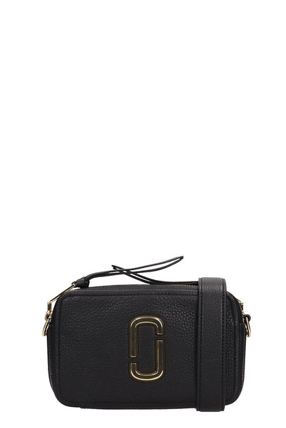 Marc Jacobs Logo Strap Snapshot Small Camera Bag in black